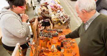 Imaxe da feira de artesanía do ano pasado