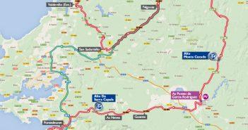 La Vuelta botará uns 20 minutos en territorio de San Sadurniño
