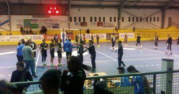 O partido entre o Aldebarán-Intasa e o CyL Palencia 2018 rematou con victoria local por 3-0