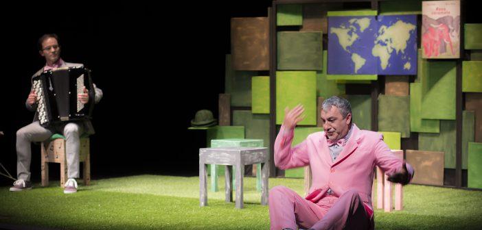 Rosa Caramelo e outras historias, de Talía Teatro, representarase na mañá do luns para o alumnado do cpi