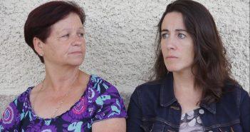 Carmiña dos Pantís xunto coa directora e protagonista, Ángeles Huerta