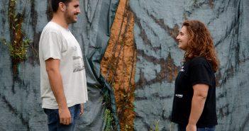 Fran Gómez e Carmen Rey (Foto: Gabriel Tizón)