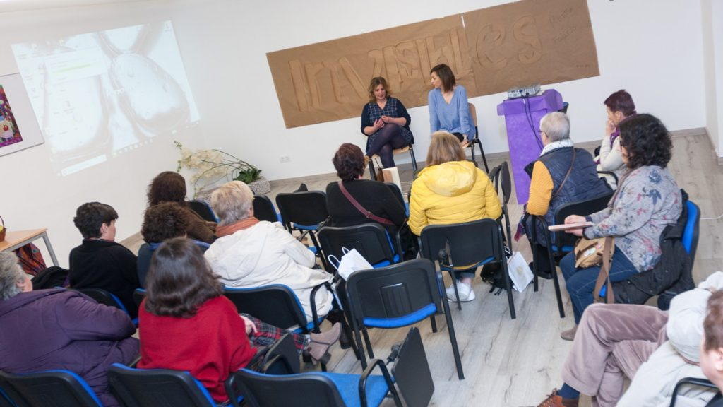 O acto estivo presentado pola Concelleira de Igualdade, Ana B. Breixo