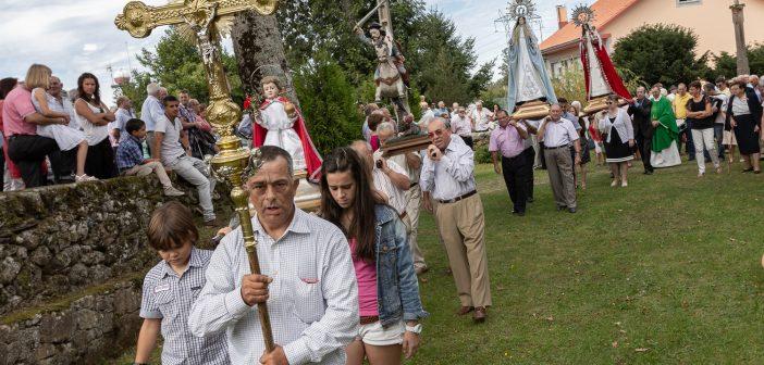 Imaxe de arquivo da procesión do domingo do Biscordel