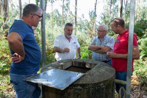Carrera deu varios consellos para manter os acuíferos en boas condicións