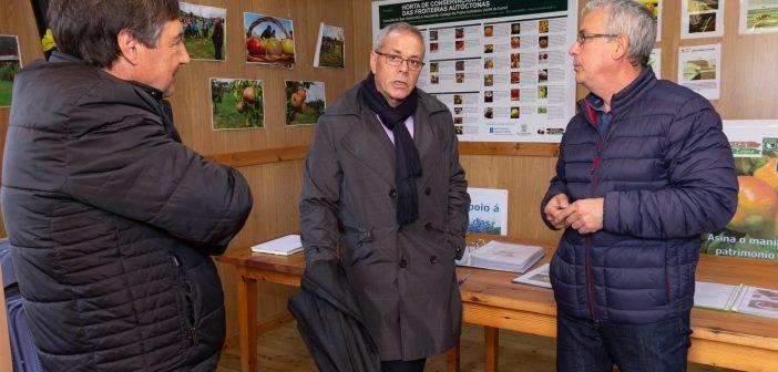 Silvestre José Balseiros mantivo estes martes un encontro con representantes da AGFA e do Concello no que confirmou a achega económica da Xunta ao Centro de Transformación Alimentaria