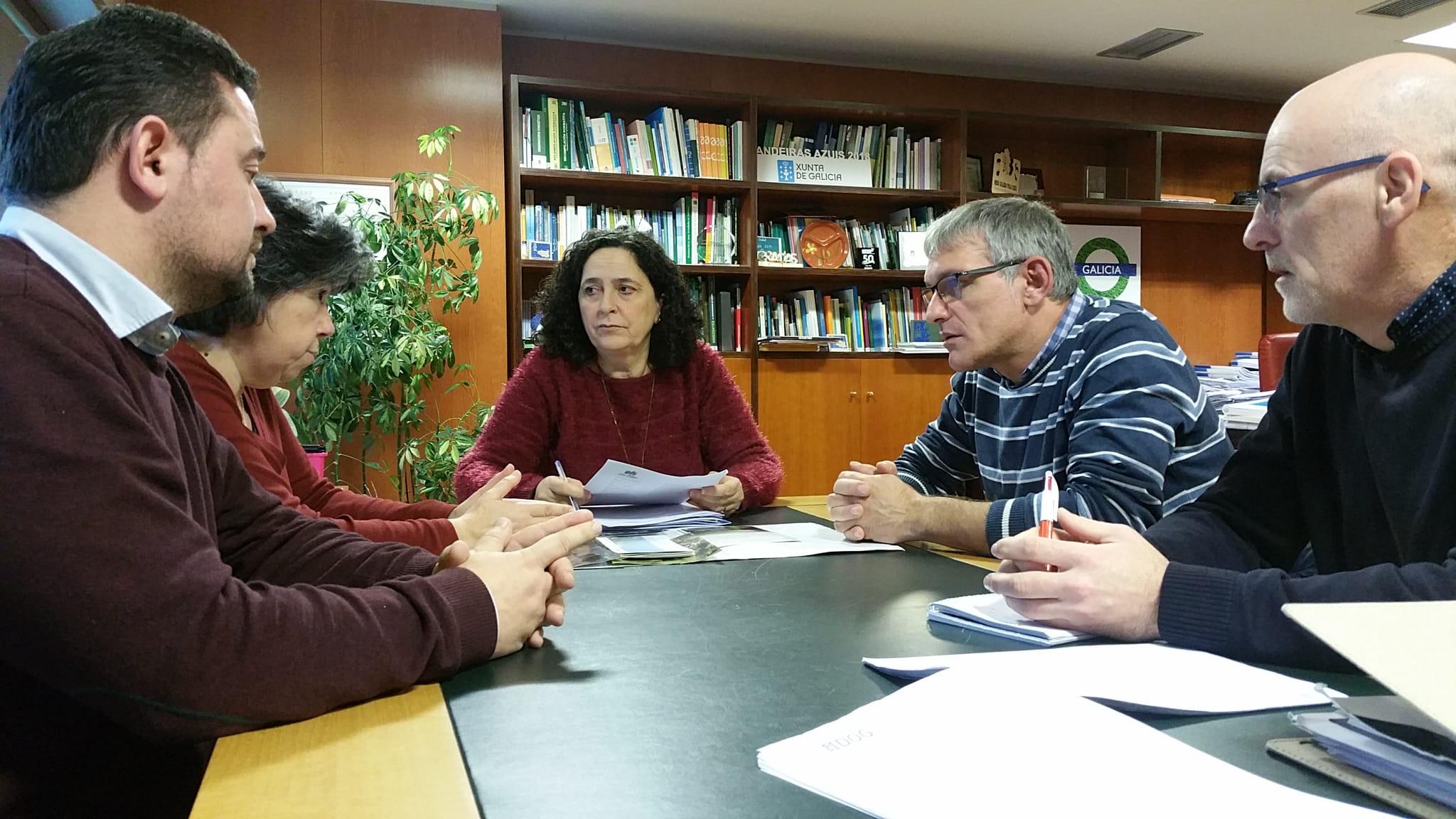 A Xunta comprometeuse a rubricar a carta en apoio do proxecto, un dos requisitos para superar o filtro do Comité Nacional de Xeoparques
