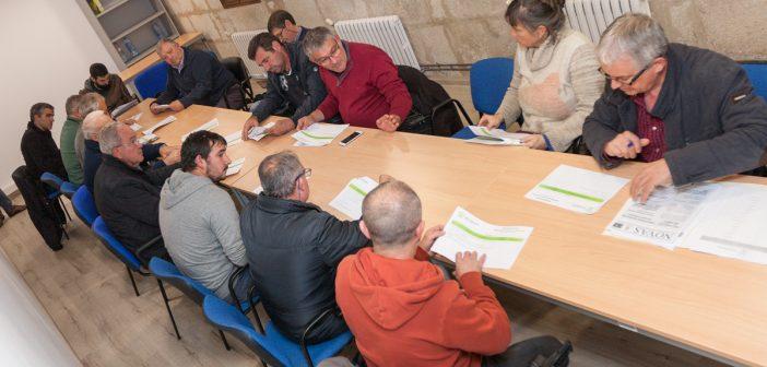 Imaxe de arquivo dunha xuntanza anterior do Consello de Participación Veciñal