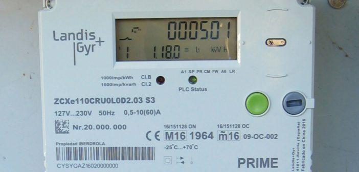 Contador eléctrico (Fonte: Wikimedia Commons. Autor: Carlos P.) CC