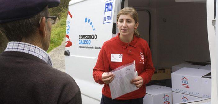 O Xantar na Casa entrega nos domicilios os menús de toda a semana (Foto: Consorcio Galego de Servizos de Igualdade e Benestar)