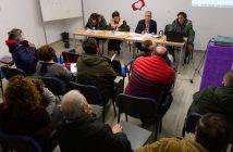 Imaxe de arquivo do Consello de Participación Veciñal celebrado en febreiro de 2019