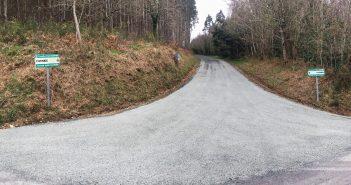 A pista A Bidueda-Cornide foi unha das que se amañou con cargo ao POS+ do ano pasado