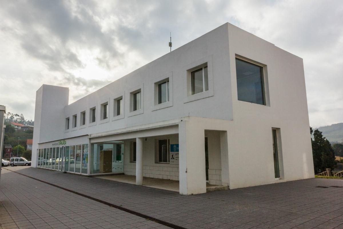 Exterior do Centro de Empresas